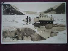 POSTCARD CENTRAL AMERICA CARIBBEAN COLUMBIA ICEFIELDS - SNOWMOBILE