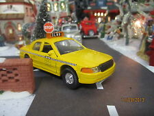 "House Village Diecast Modern ""New York Taxi Cab "" plus+ Dept 56/Lemax info!"