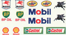 * 14 PETROL AND OIL DECALS FOR CODE 3 MODEL LIST 2