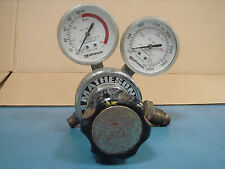 Matheson 63-3106 & 63-3142 Gas Regulator with Two Gauges
