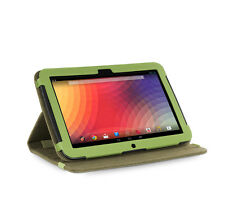 Google Nexus 10 Tablet Khaki Green Version Stand Natural Hemp Cover Case