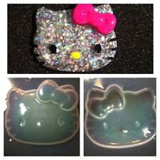 Kawaii Kitty Cat Flexible Resin Mold For Handmade Craft Supplies