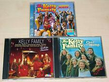 3 CD SAMMLUNG - THE KELLY FAMILY - OVER THE HUMP ALMOST HEAVEN FESTLICHE STUNDEN