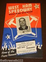SPEEDWAY - WEST HAM V WIMBLEDON - 6 JULY 1965