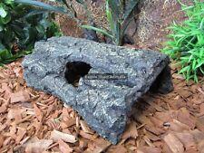 GLG-119 Resin Hide Log 29cm Cichlid Fish Reptile Lizard Snake Spider Hatchling