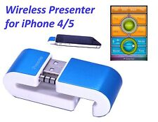 Compact Wireless Professional Presenter Remote 4 iPhone 4 5 6, Free App Download
