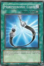 3 X YU-GI-OH CARD: MORPHTRONIC CORD - CSOC-EN051