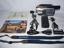 Sony Handycam CCD-TRV58 8mm Video8 HI8 Camcorder Player Camera Video Transfer