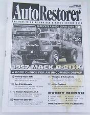 Auto Restorer Classic Car Dec 2003 How-To Guide Magazine 1957 Mack Truck B-813X