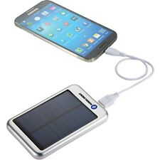 Iphone/ Android Cell Phone Solar Battery Charger/battery 4000mah.