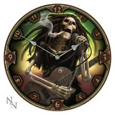 Nemesis Now - Dead Dread Clock by James Ryman, music gothic rock rasta skeleton