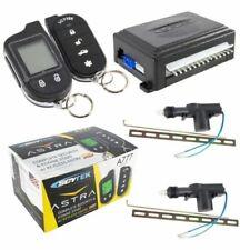 SCYTEK A777 CAR ALARM SYSTEM WITH KEY LESS ENTRY & LCD 2-WAY REMOTE 2 DOOR LOCKS