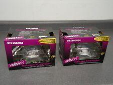 (2) New Sylvania Halogen XtraVision Low/High Beam Headlight Headlamp H6054XV