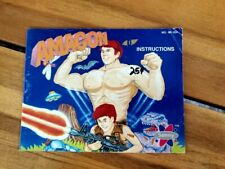 AMAGON NES INSTRUCTION BOOKLET