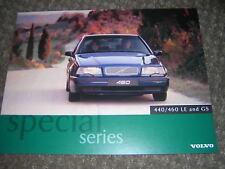 ORIGINAL VOLVO 440/460 LE AND GE SALES BROCHURE 1996