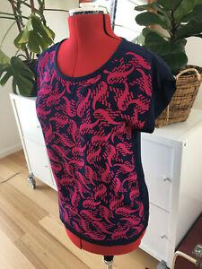 Diane Von Furstenberg Silk top size 8 12