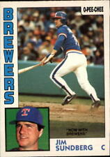 1984 O-Pee-Chee Baseball Cards 251-396 Pick From List