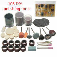 105Pcs Grinding Tools Accessory Bits Set 1/8'' For Tool Electric Polishing