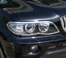 IDFR BMW X5 E53 2003~2006 chrome frame bezel for head lights