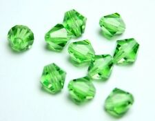 Preciosa Perlen peridot Rondell Beads 7 mm *** high quality ***