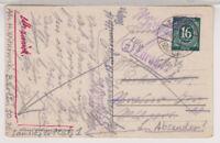 All.Bes./Gemeinsch.Ausg. Mi. 923 EF, Tabarz/Thüringerw., 7.8.46 + Zurück-Stpl.
