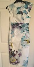 New Karen Millen Floral Print Wiggle Pencil Bodycon Dress