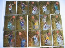 1996-97 Topps Rookies Kobe Bryant Rookie LAKERS RC Gold Cards 1-30  basketball