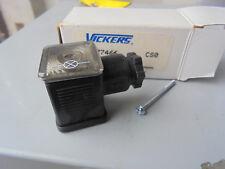 Vickers, Eaton 977466 Receptacle Connector LED Hirshman Plug 12-24v DC – Black