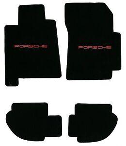 LLOYD MATS Ultimat LICENSED PORSCHE® logo Floor Mat Set 1984 to 1994 Porsche 928