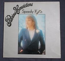 JOHN SPEEDY KEEN - PREVIOUS CONVICTIONS - RARE 1973 UK TRACK 2406105 PROG PSYCH