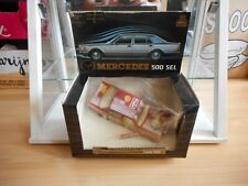 Mira Mercedes 500 SEL in Red on 1:25 in Box