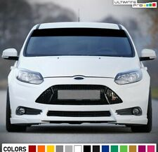 Stripe Sticker Decal For Ford Focus RS Mirror 2007 - 2019 Windshield Perforated