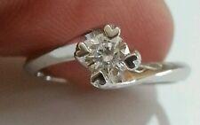 SCONTO 50% Anello Solitario Diamante Naturale Oro 18Kt - fidanzamento