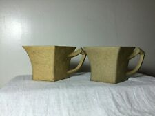 ANTIQUE CHINESE 1900'S REPUBLIC 相周 YIXING ZISHA CLAY POTTERY TEA CUP TEACUP SET