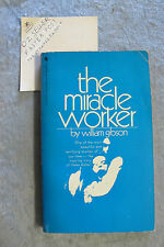 The Miracle Worker - William Gibson playscript OzSellerFasterPost!