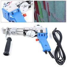 New listing Electric Loop pile Type Carpet Weaving Machine Hand Tufting Gun Rug Maker 9-21mm