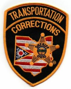 OHIO OH COUNTY SHERIFF DEPUTY TRANSPORTATION CORRECTIONS NEW SHOULDER PATCH