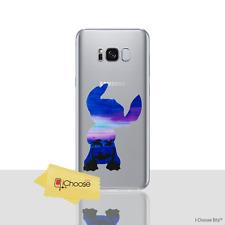 Disney Watercolour Case/Cover For Samsung Galaxy S8 (G950) Silicone Gel / Stitch