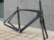 FR906 Toray Carbon Matt Road Bike 700C Frameset 51cm Frame Fork Headset Clamp