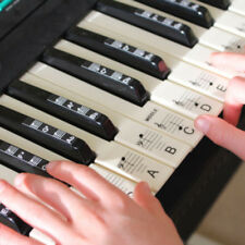 Removable 88 Keys Piano Keyboard Stickers Kits Adults Kids Educational Toys Gift