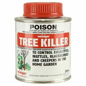 HEINIGER Tree Killer 250ml To Control Eucalyptus,Wattles,Blackberries, Creepers