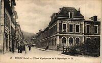 CPA MOREZ - L'École d'optique rue de la Republique (212077)