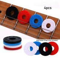 Pro Electric Guitar Strap Block Rubber Bass Guitar Strap Lock Guitar Accessories