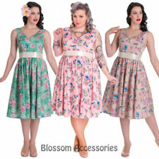 Unbranded Rockabilly 100% Cotton Dresses for Women