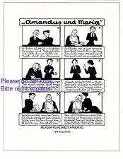 Margarine Palmin & Palmona XL Reklame 1913 Ivo Puhonny * Cartoon Amandus Maria +