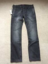 Diesel Homme Gris Jeans Taille W29/L31 * NEUF *