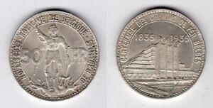 BELGIEN   50 Francs 1935   Weltausstellung