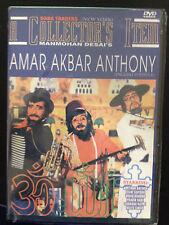 Amar Akbar Anthony, DVD, Baba Traders, Hindu Language, English Subtitles, New
