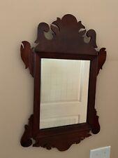 Antique circa 1900 wall mirror