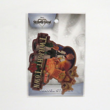 Kingdom Hearts Roxas Twilight Town Travel Sticker ENSKY Japanese import